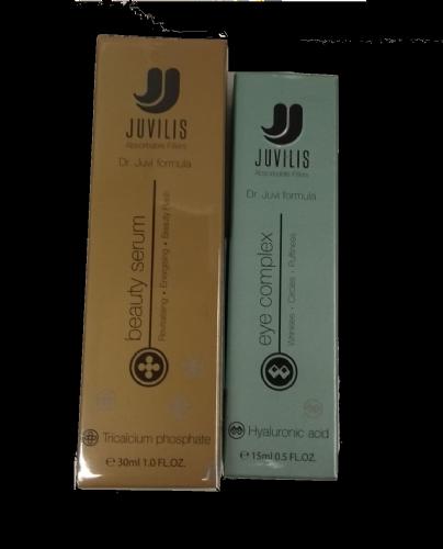 Juvilis pack eye complex + beauty serum