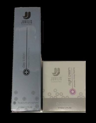 Juvilis pack beauty serum + day lotion