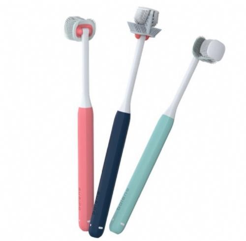 Cepillo dental adulto - balene (1 unidad tamaño medio dureza media)