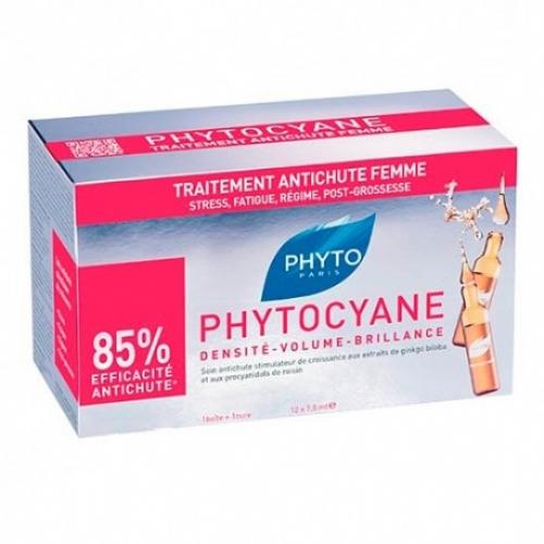 Phytocyane anticaida mujer - phyto (12 ampollas)
