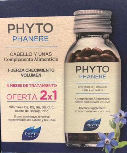 Phytophanere cabellos y uñas - phyto  120CAPSULAS  2X1