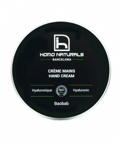 Homo naturals crema de manos 100ml + REGALO GEL HIDROALCOHOLICO