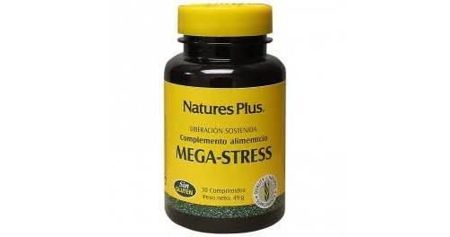 Nature´s plus mega-stress (30 comprimidos)