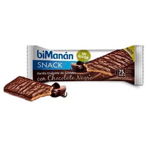 Bimanan snack crukiente chocolate negro