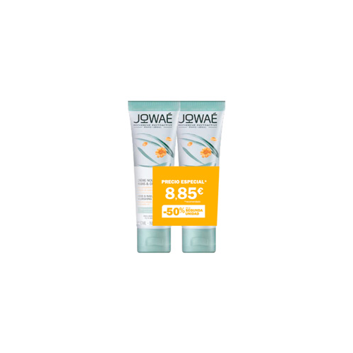 Jowae duo crema nutritiva manos y uñas aceite de