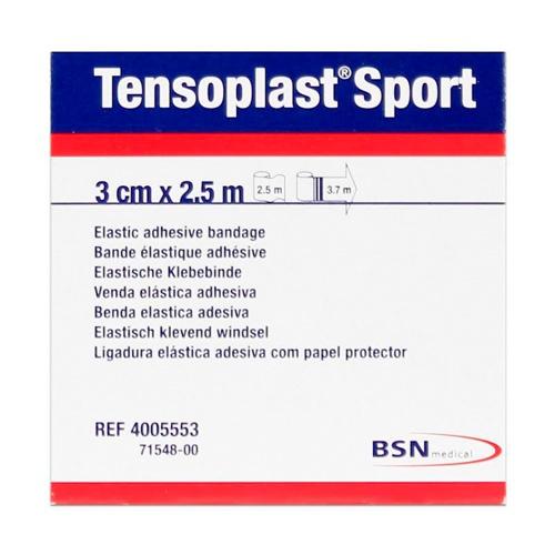 Venda elastica adhesiva - tensoplast sport (3 x 2.5 m)