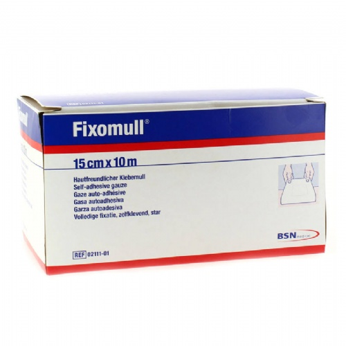 Fixomull gasa autoadh - gasa adhesiva fijacion de apositos (10 m x 15 cm)