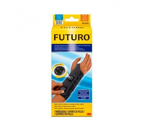 Muñequera estabilizador de muñeca - 3m futuro con ajuste de presion mano (izda)