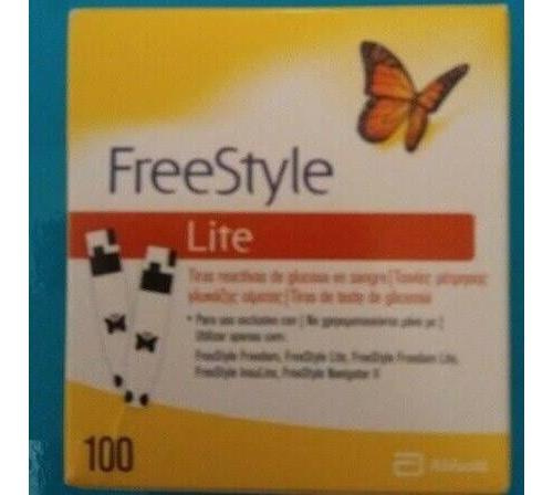 Tiras reactivas glucemia - freestyle lite (100 u)