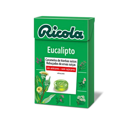 Ricola caramelos sin azucar (eucaliptus 50 g)