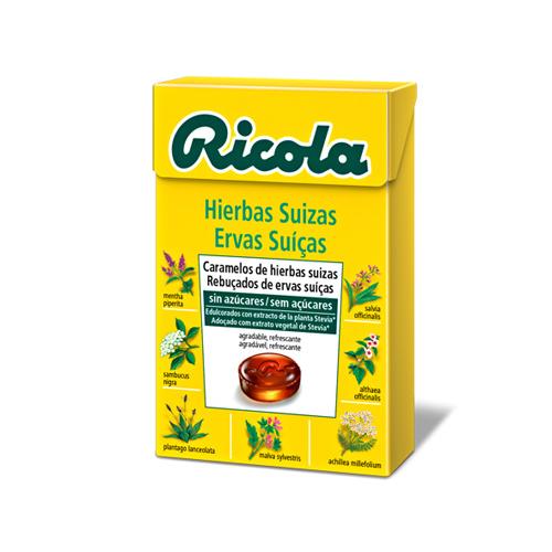 Ricola caramelos hierbas suizas
