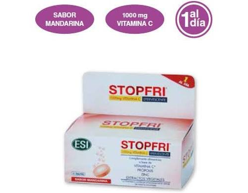 Stopfri tabletas efervescentes (10 tabletas)