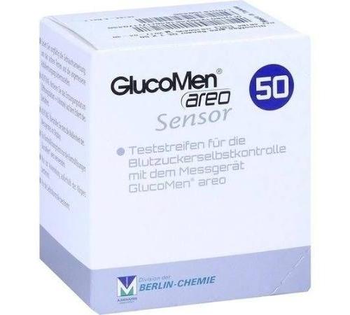 Tiras reactivas glucemia - glucomen areo sensor (100 tiras)