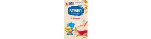Nestle papilla 5 cereales sin leche (600 g)