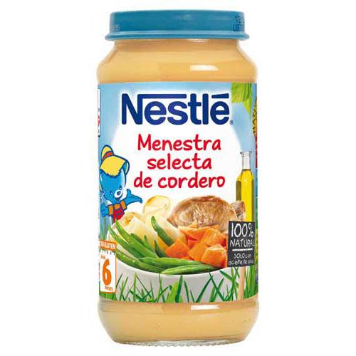 Nestle menestra de cordero (250 g)