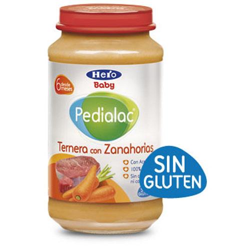 Pedialac ternera con  zanahorias - hero baby (250 g)