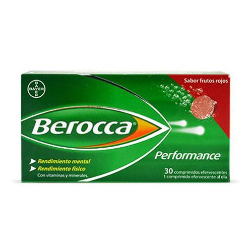 BEROCCA PERFORMANCE (FRUTOS ROJOS 30 COMP EFERV)