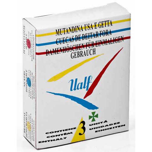 Braga desechable - ualf (t- peq 3 u)