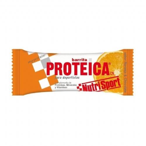 Nutrisport barrita proteica naranja - chocolate