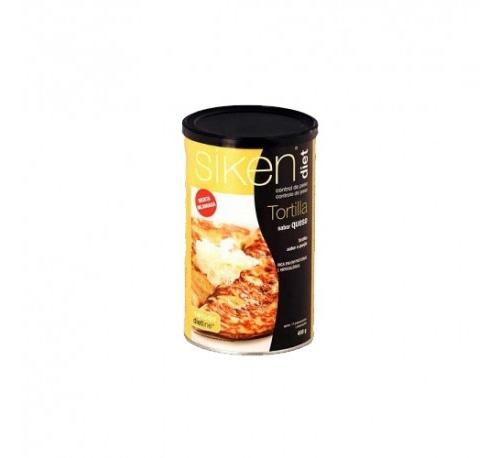 Siken diet tortilla al aroma de 3 quesos (400 g)