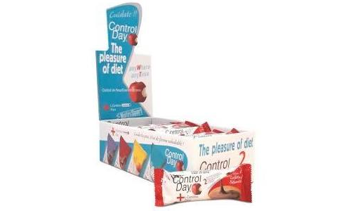 Control diet barritas (24 u sabor galletas)