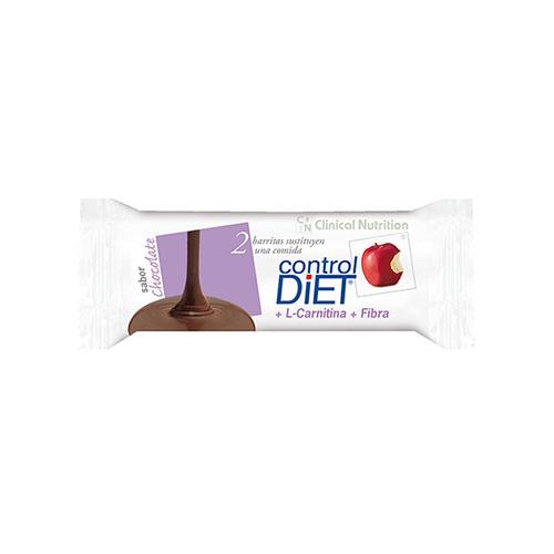 Control diet barritas (24 u chocolate)