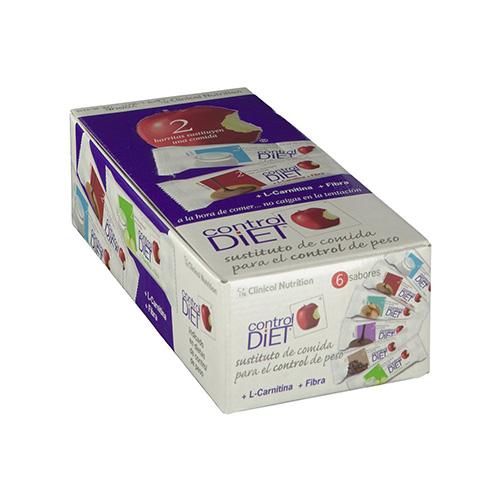 Control diet barritas (24 u yogur)