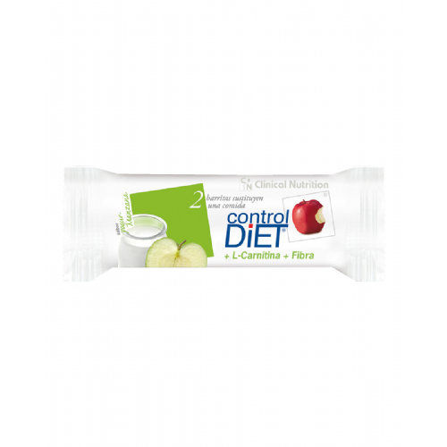 Control diet barritas (24 u yogur manzana)