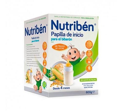 Nutriben inicio biberon - papilla sin gluten (600 g)