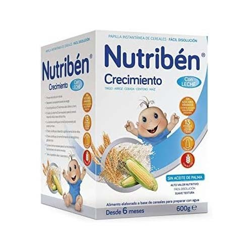 Nutriben crecimiento c leche adaptada (600 g)