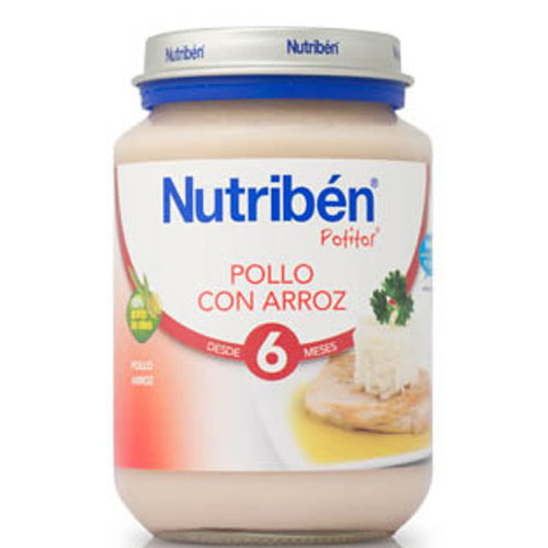 Nutriben pollo con arroz (potito junior 200 g)