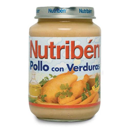 Nutriben pollo con verduras (potito junior 200 g)