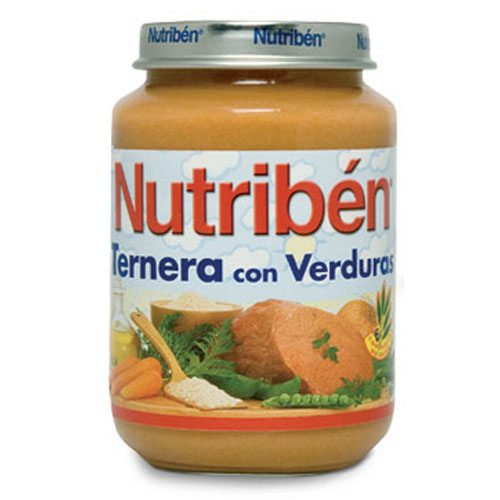 Nutriben ternera con verdura (potito junior 200 g)