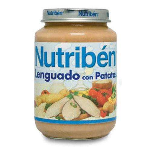Nutriben crema de patatas lenguado (potito junior 200 g)