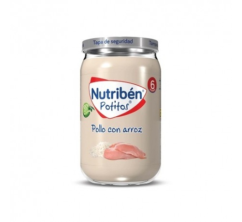Nutriben pollo con arroz (potito 235 g)