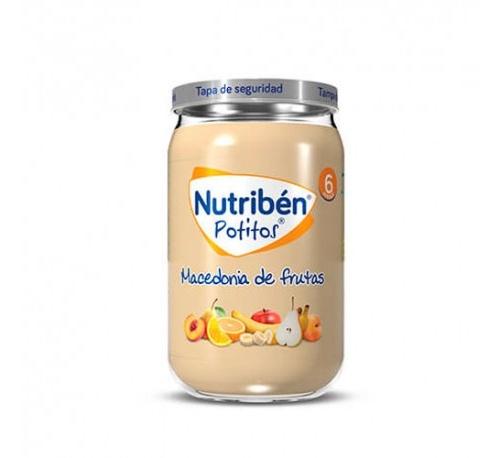 Nutriben macedonia de frutas (potito 235 g)