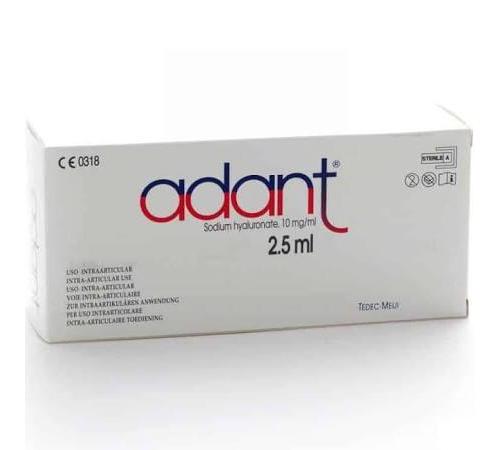 Adant jeringa precargada - hialuronato sodico (2.5 ml 5 jeringas)