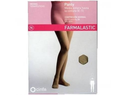 Panty comp normal 140 den - farmalastic (camel t- gde)
