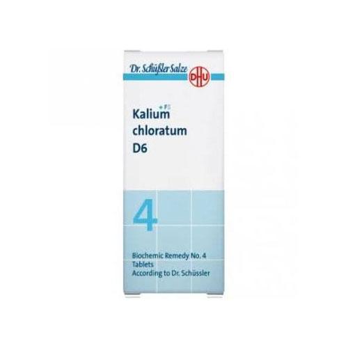 Kalium chloratum d6 dhu 80comp