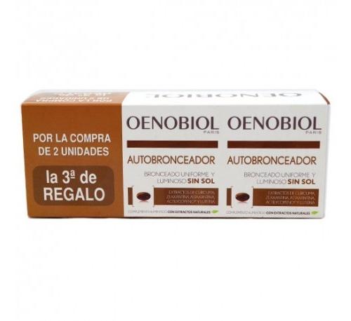 Oenobiol autobronceador (30 capsulas triple)
