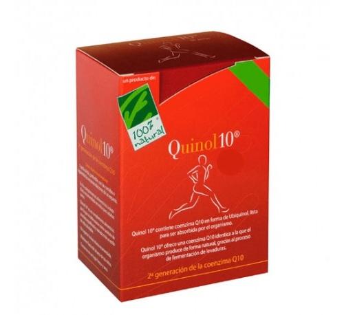 Quinol 10 (100 mg 30 capsulas)