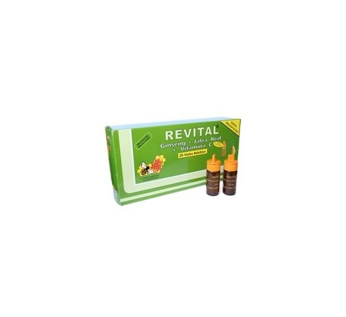 Revital amp bebible (20 ampollas)