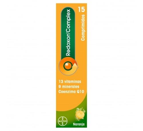Redoxon complex (15 comprimidos efervescentes)