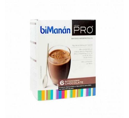 Bimanan metodo pro batido - hiperproteica e hipocalorica (chocolate 6 batidos)