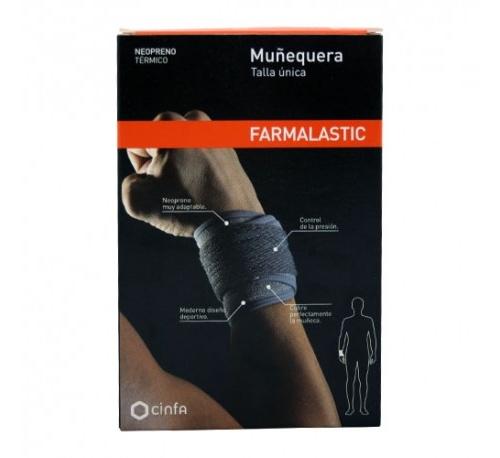 Muñequera - farmalastic neopreno (t- unica)