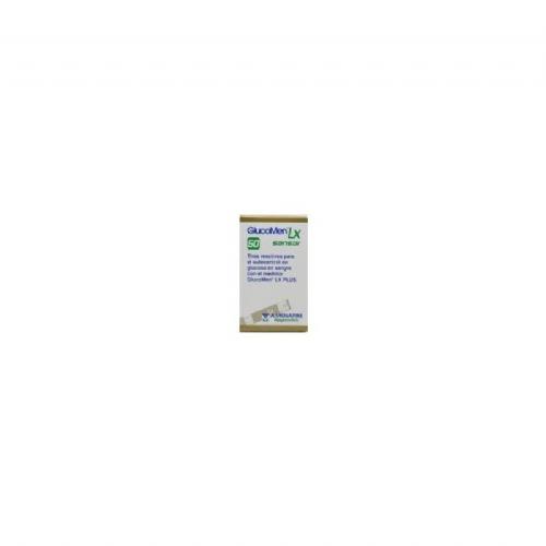 Tiras reactivas glucemia - glucomen lx sensor (50 u)