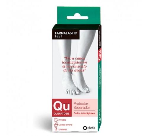 Protector separador dedos - farmalastic feet (t unica)
