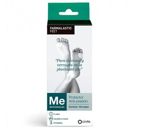 Farmalastic feet durezas y verruga - protector antipresion (t unica)