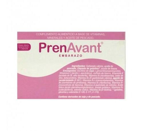 Prenavant embarazo (30 capsulas)