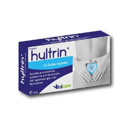 Hyltrin ovulos vaginales (10 ovulos)